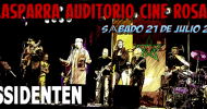 DISSIDENTEN – live @ Cine Rosales Auditorium– Calasparra/Spain