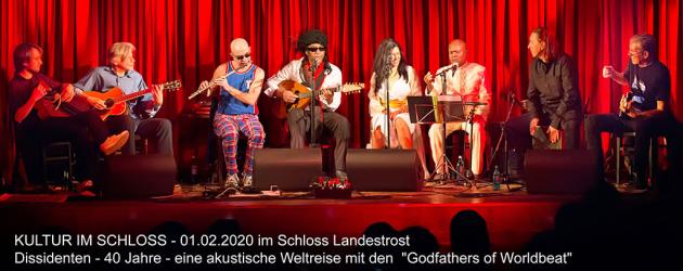 DISSIDENTEN – live @ Kultur im Schloss Landestrost / Germany